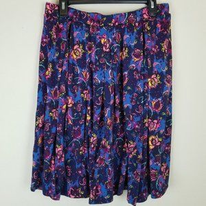 Lularoe Madison Pocket Skirt with Pleats
